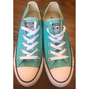Converse Pure Teal Mens 4 Womens 6